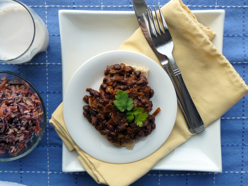 Black Bean Sloppy Joes featured