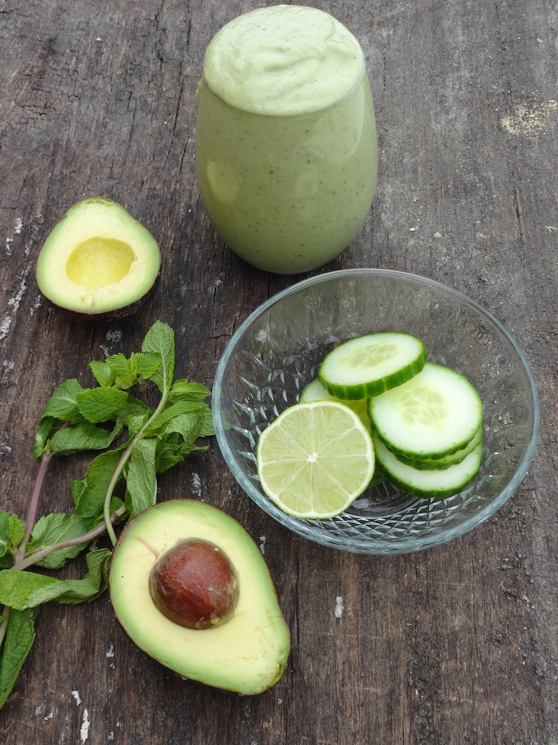 Cool as a Cucumber Smoothie 1