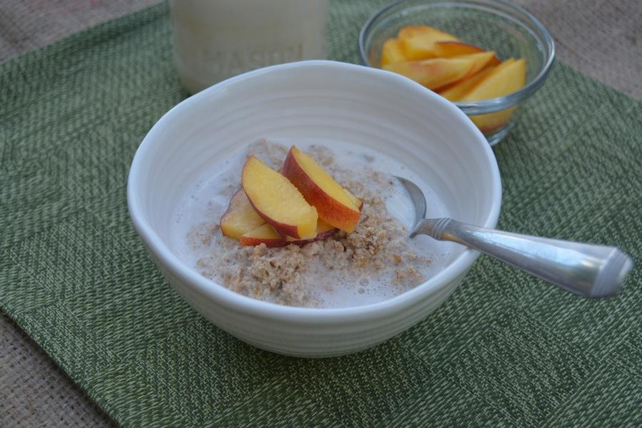 Peach & Almond Porridge 5