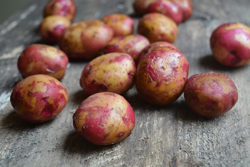 Potatoes small