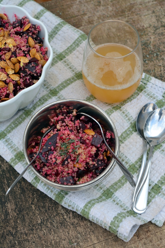 Big Protein Beet & Quinoa Salad -1 small
